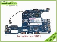 メインボードpav10 LA-5122P rev 1.0 K000106970東芝衛星nb255マザーボードddr2インテルatom n455 1.66 ghz gma X3150