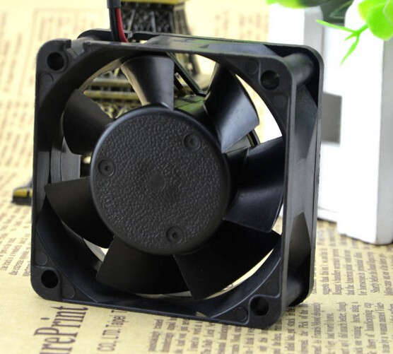 The original NMB 2410ML-05W-B10 60*60*25 6CM 24V 0.08A two wire double ball bearing fan