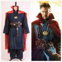 Avengers Doctor Strange Cosplay Costume Stephen Vincent Strange Cosplay Marvel Superhero Steve Strange Costume for Adult Men