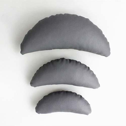 Для новорожденных реквизит для фотосъемки позирует СПИДа обертывания Professional подушки Fotografia аксессуары фотостудия реквизит - Цвет: 3pcs grey