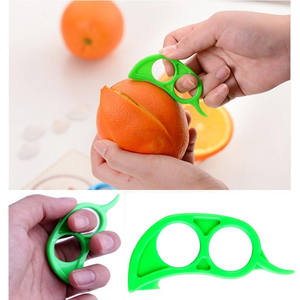 OUTAD 3Pcs Fruit Peelers Lemon Gadgets Kitchen Cutter