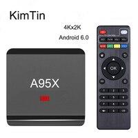 KimTin Mini R1 RK3229 Quad Core Android 6.0 Media Player 1G/8G WiFi HDMI2.0 4 K 3D H.265 KODI Smart TV Box W/Google Play Store