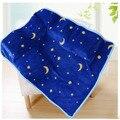Envío libre Aden anais 100% tela de franela de lana coral super suave manta de Bebé manta de Cama de dibujos animados Los Niños manta