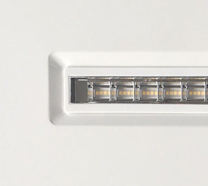 600600 com isolado bright led plana ac85 265v 5040lm 05