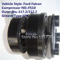 air conditioner FS10 compressor clutch for FFord Falcon A/C compressor magnetic clutch 12V 6PK 117.2/112.2