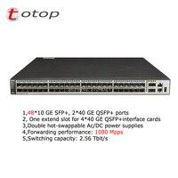 Заводская распродажа 10GE 48 Порты SFP коммутатор хуавэй S6720 54C EI 48S DC Слои 3 Gigabit Ethernet