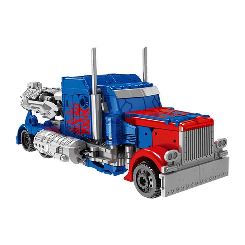 2 размера, робот-машина, модель из АБС-пластика, детская игрушка-робот, трансформация, серия аниме, экшн-фигурка, игрушка для ребенка