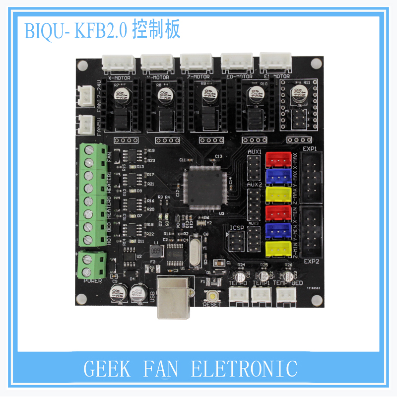 BIQU BIGTREETECH KFB2 0 3D Printer controller board Ramps1 4 Mega2560 R3 a4988 DRV8825 TMC2100 Reprap