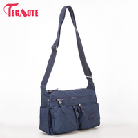 TEGAOTE Luxury Women Messenger Bag Nylon Shoulder Bag Ladies Bolsa Feminina Waterproof Travel Bag Women S