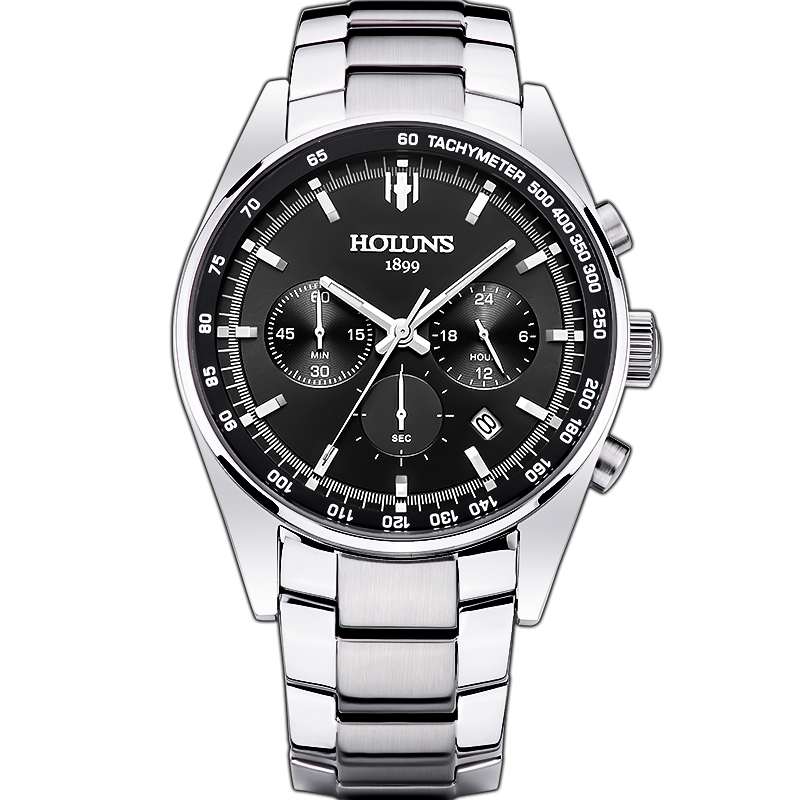mens quartz watches top brand luxury 24mm stainless steel watch band sport watch for men with watch tools orologio uomo/HS002 free shipping sex products hot selling adult toys silicone vagina transparent silicon pussy male masturbation 004