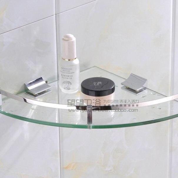 shampoo cromato vetro bagno angolo mensola 2353 cmchina mainland