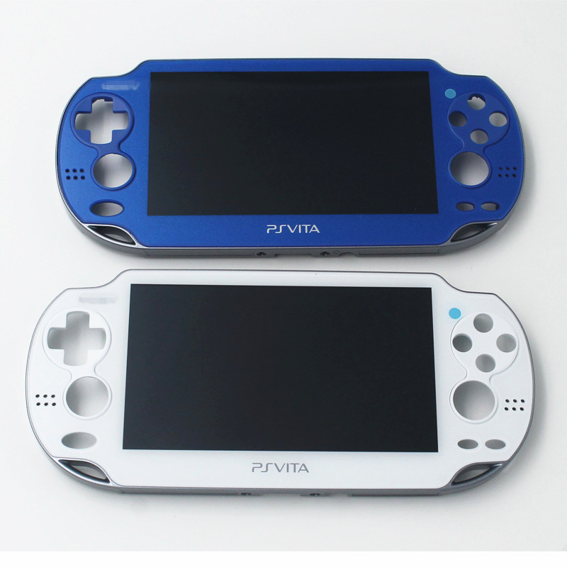 Novo original display lcd para ps vita psvita 1000 PCH-1xxx display lcd com moldura