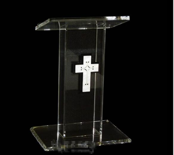 Free Shipping Modern Acrylic Hot Sale Publipt , Acrylic Pulpit, Modern And Stylish 2016 Acrylic Pulpit Church