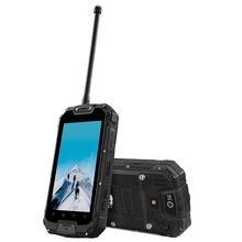 Snopow m9 смартфон 4.5 дюймов mtk6582 quad core 1 ГБ оперативной памяти 8 ГБ ROM IP68 Водонепроницаемый Android 4.2 3 Г Телефон 4700 мАч Walkie Talkie