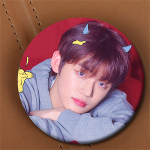 Youpop KPOP TXT TAEHYUN Album The Dream Chapter STAR Pin Badge For Clothes Hats Backpack Corsages Decoration(China)