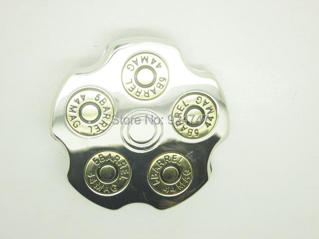 5barrel 44mag Bullet Spinner Belt Buckle Apparel Sewing & Fabric