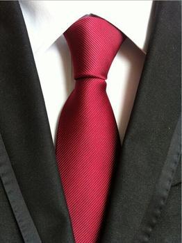 RBOCOTT Czarny Zwykły Krawaty 8 cm męskie Klasyczne Stałe Krawat niebieski Czerwony Ślub Krawat Moda Fioletowy Neck Ties Dla Formalne biznes
