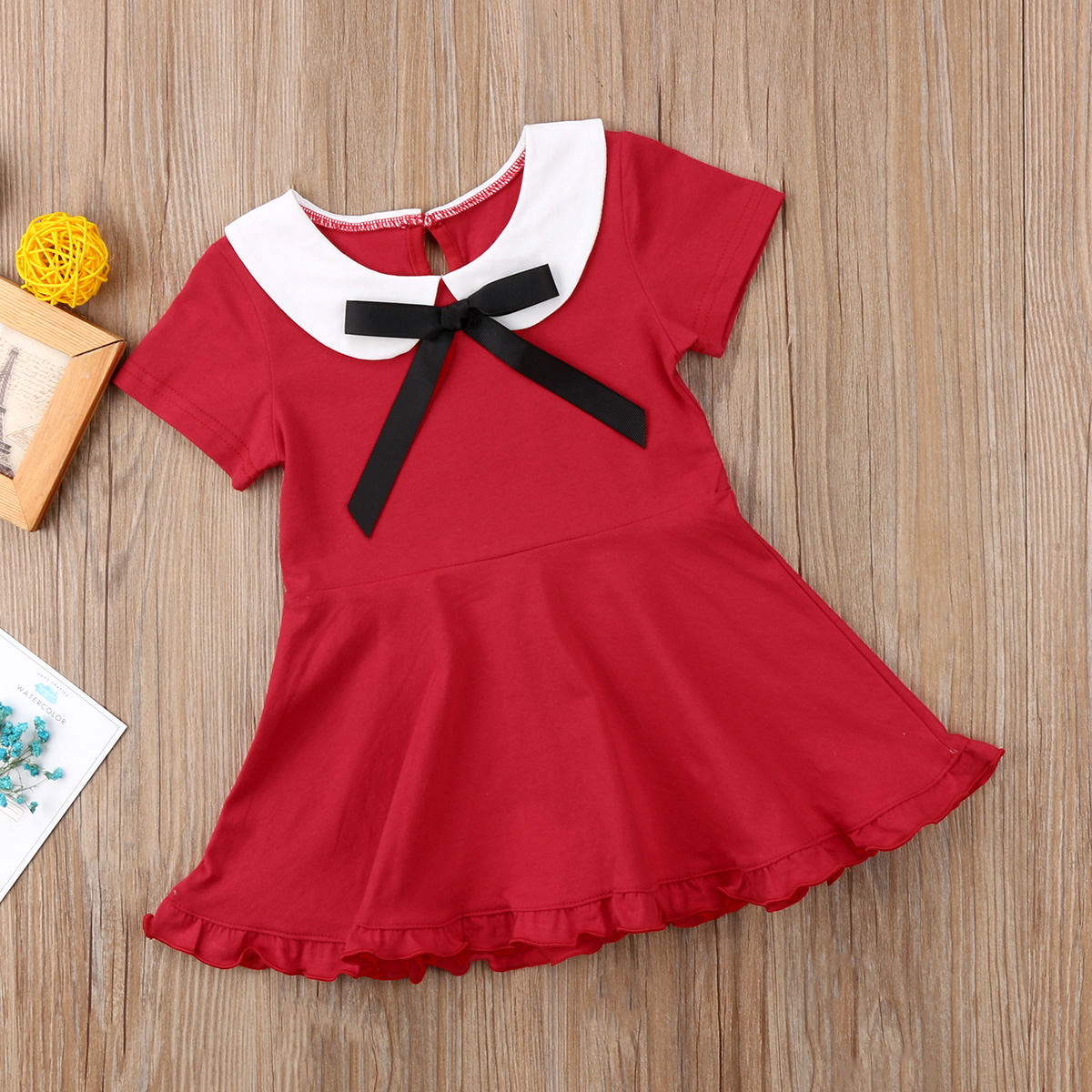Dresses Beautiful 2018 Brand New Toddler Infant Kids Baby Girl Pink Princess Tutu School Party Solid Dresses Preppy Style Sleeveless Sundress 1-6t