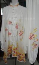 Customize Tai chi clothing wushu uniform taiji clothes suit embroidered outfit for women men kids girl boy children