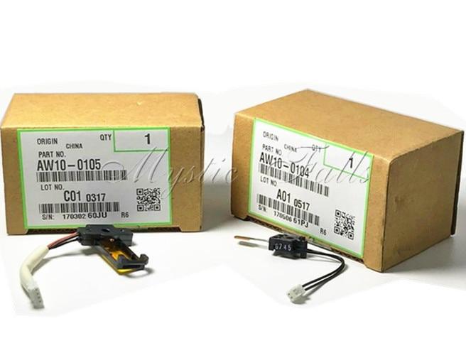 1 Set Genuine AW10-0104 AW100104 For Ricoh Aficio MPC2000 MPC2500 MPC3000 MPC2800 MPC3300 Fuser Thermistor AW10-0105 AW100105 genuine recycle ax06 0396 ax060396 ax06 0318 ax060318 polygon mirror motor for gestetner dsc 520 525 530 mpc 2000 2500 2800 part