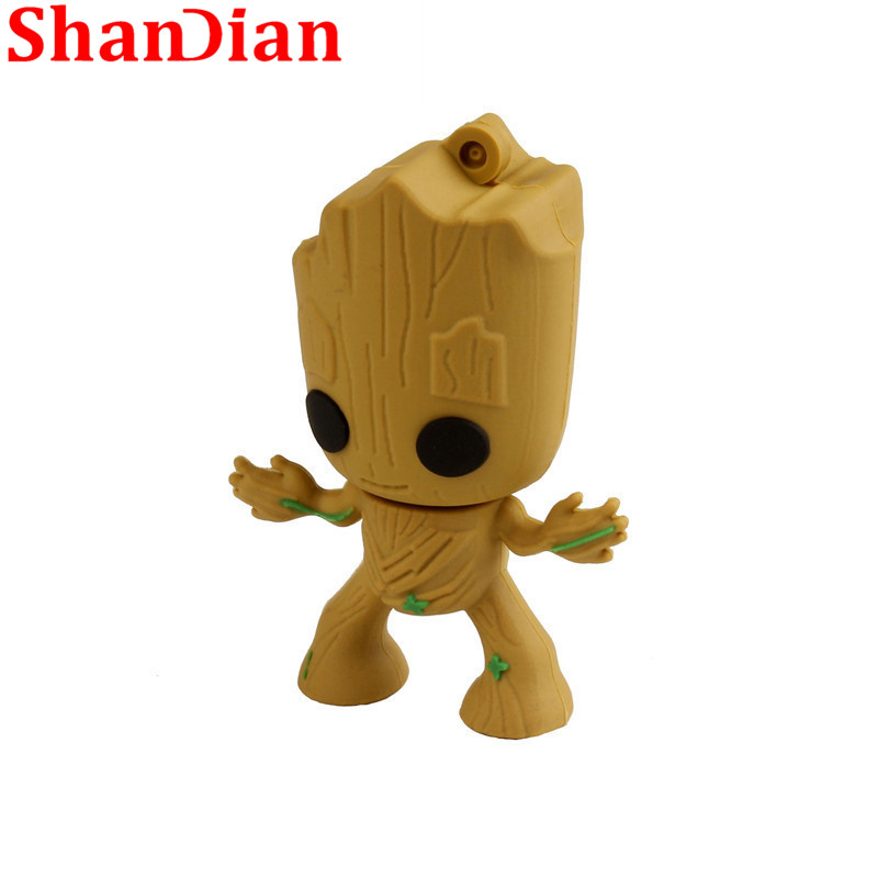 Computer & Office Able Shandian New Usb Flash Drive Tree Man Cartoon Usb 2.0 Keychain 4gb/8gb/16gb/32gb/64gb Fashion Creative Memory Flash Drive U Disk Catalogues Will Be Sent Upon Request