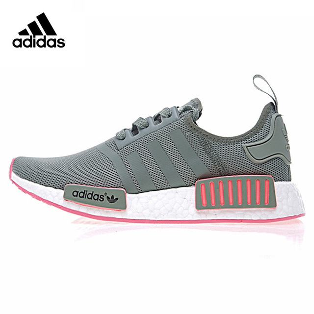 862a8ace21baf0 ... australia adidas originals gray pink women sneakers breathable  skateboarding shoes classic air mesh lace up low