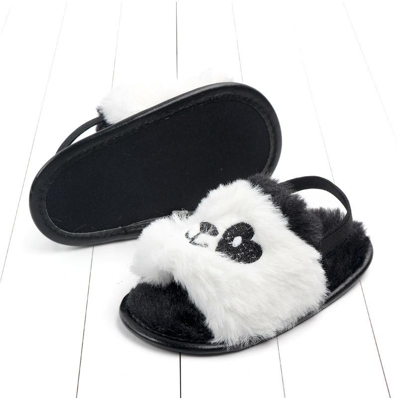 Baby sandals girls baby summer Kids Shoes Lovely Plush Toddler Princess Non-slip Crib Slippers Kids Gifts baby summer shoes Gift (8)