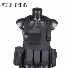 RRV Tactical Vest, Molle Vest, 600D Nylon, Airsoft Taktikai Gear Colete Tatico, Fekete, Tan, OD Zöld, Woodland, CP, ACU