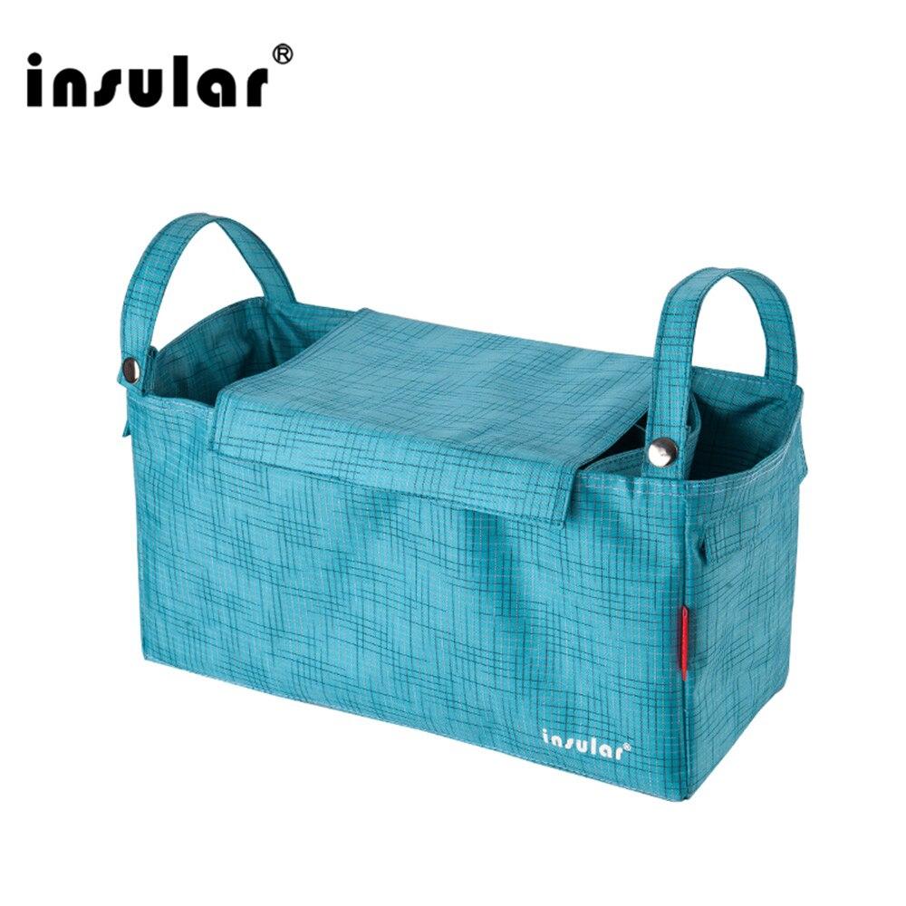 Insular Bag-Organizer Stroller Diaper-Changing-Liner Care Multifunctional Baby Waterproof