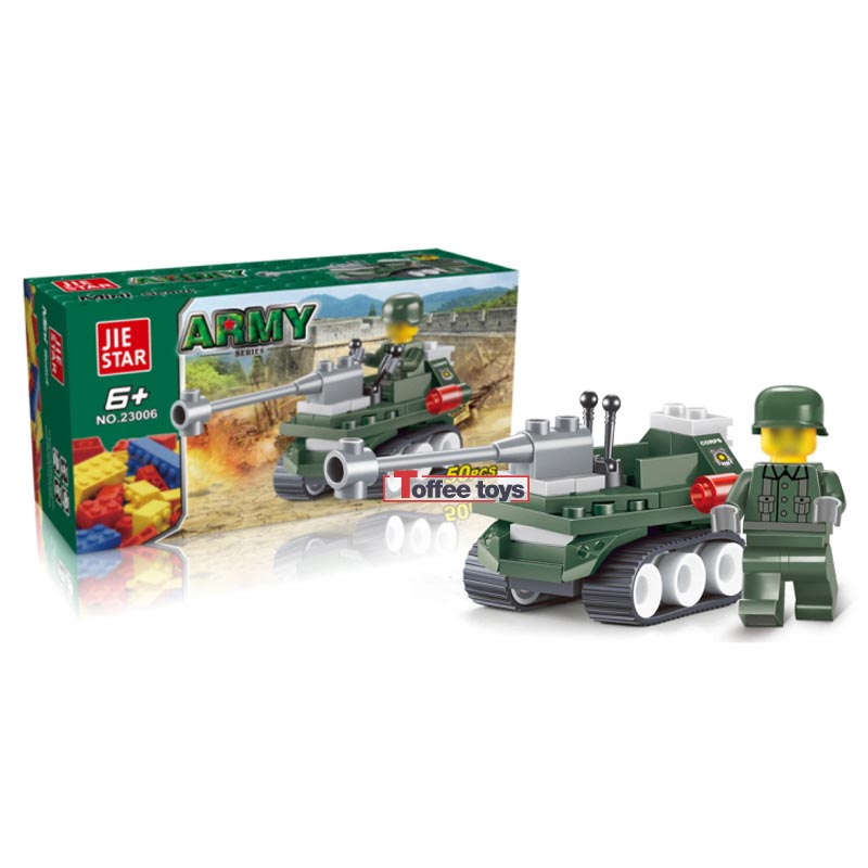 50pcs Pioneer Explore Chariot Military Car Toys for Children Kids Building Blocks Bricks DIY Assemble Gifts Brinquedos Kid K2506