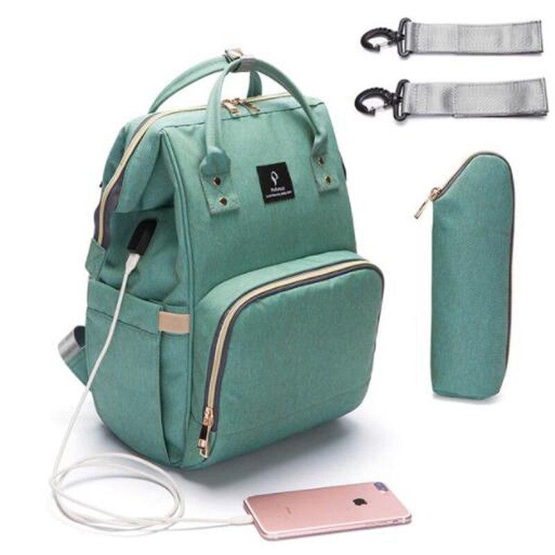 PYETA Baby Diaper Bag Mommy Maternity Nappy Bag Large Baby Diaper Bag Travel Backpack Designer Nursing Bag For Baby Care