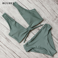 RUUHEE Bikini 2017 Black Swimsuit Women Swimwear Sexy Brazilian Bikini Push Up Beachwear Biquini Beach Bathing