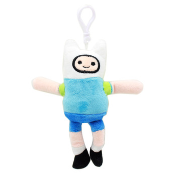 1pcs Adventure Time Plush Keychain Toys 12-15cm Finn Jake BMO Plush Pendant Soft Stuffed Toys Doll for Kids Children Gift 2