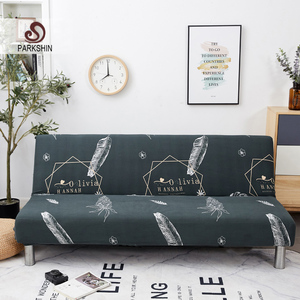 Image 1 - Parkshin Fashion All inclusive Folding Sofa Bed Cover Tight Wrap Sofa Towel Couch Cover Without Armrest housse de canap cubre
