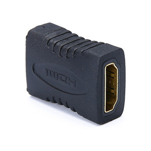 Image 5 - 3 개/몫 높은 품질 블랙 HDMI 여성 HDMI 여성 커넥터 Extender HDMI 케이블 코드 확장 어댑터 변환기 1080P