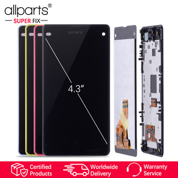 Originele LCD voor SONY Xperia Z1 Compact Touch Screen Display met Frame Voor SONY Xperia Z1 Compact LCD Display Mini d5503 M51W