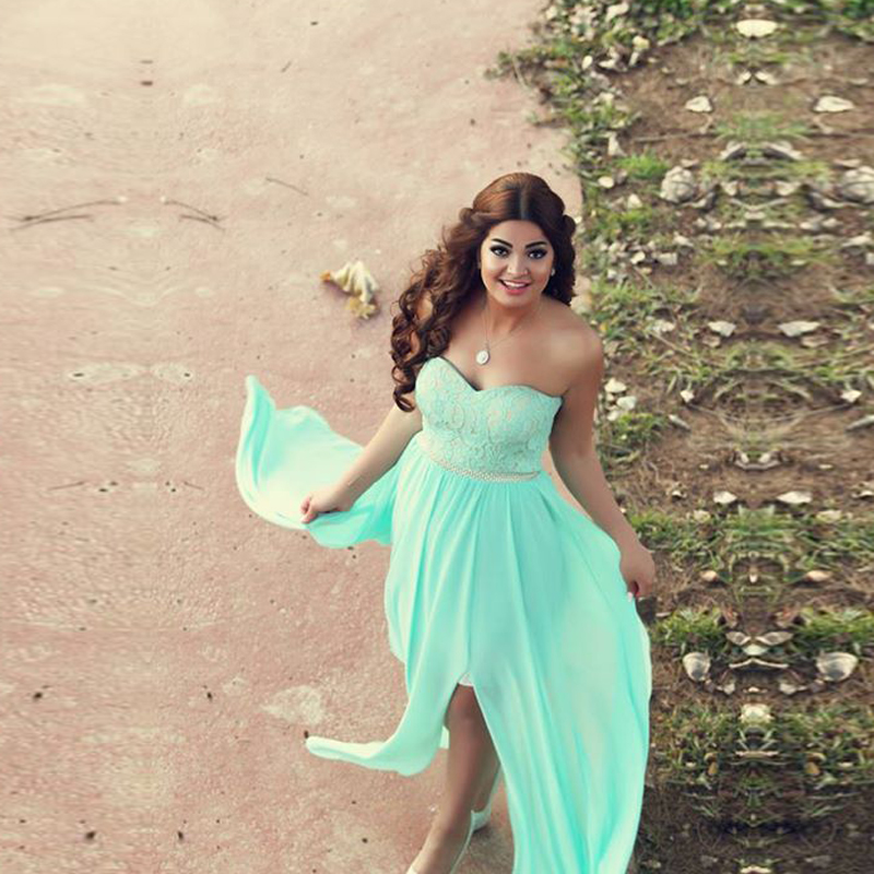 b7edb728faf Aliexpress.com   Buy Mint Green Juniors Homecoming Dresses 2016 Lace Beaded  Sash Special Occasion Dresses for Graduation Cheap Chiffon Prom Dress from  ...