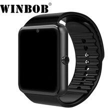 Relógio inteligente Android Relógio GT08 Com Slot Para Cartão Sim Empurre Mensagem Conectividade Bluetooth Telefone Android PK DZ09 Smartwatch