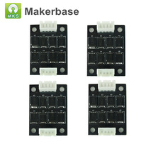 Top Quality 4PCS 3D Printer Parts TL-Smoother Addon Module MKS Smoother for Stepper Motor Drivers Anet A8 Ender