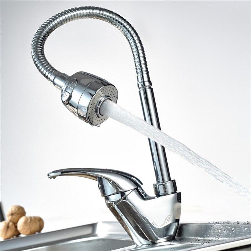 1 Set Frap True Brass Kitchen Faucet Mixer Cold And Hot Kitchen Tap Single