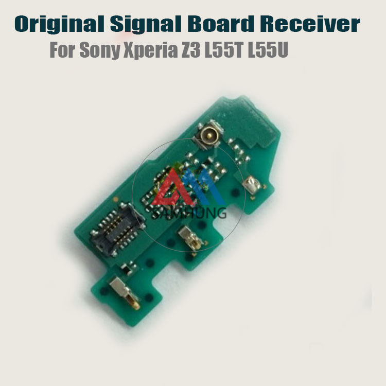 US $11 6 |100% Original Signal Board Receiver For Sony Xperia Z3 L55T L55U  Repair Parts Replacement free shipping-in Mobile Phone Flex Cables from