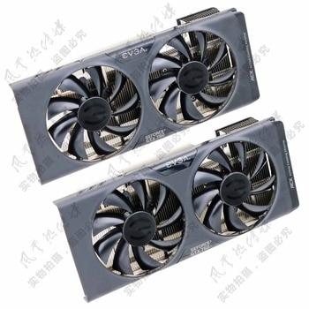 New Original for EVGA GTX750 GTX750Ti ACX Graphics card radiator Pitch 43x43MM