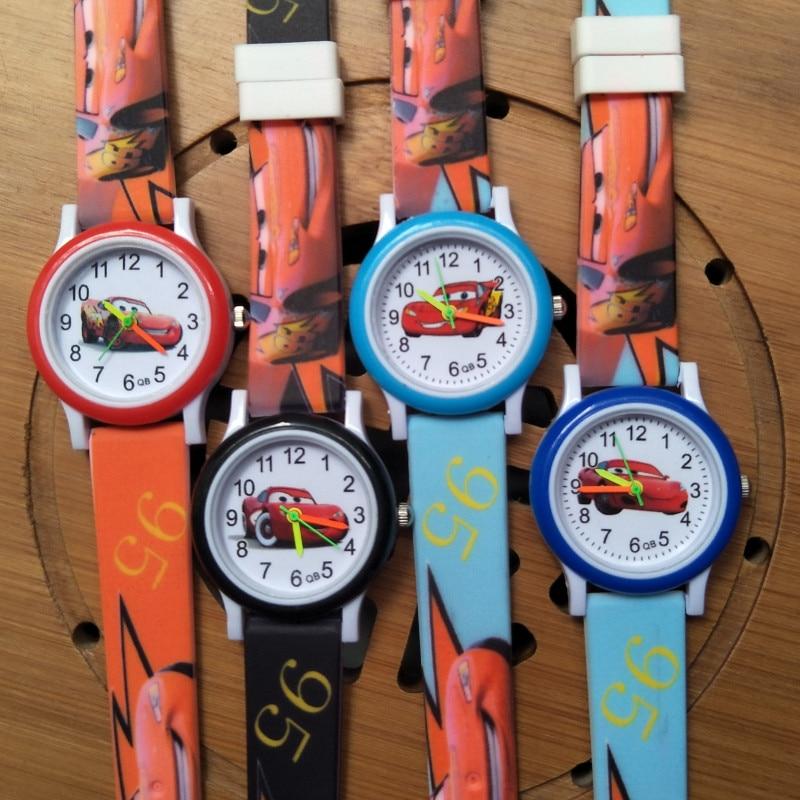 Cartoon Car story animation Children Fashion Child Watch Acrylic Kids Sports Watch Boys Girl Clock Quartz Watches Reloj infantil