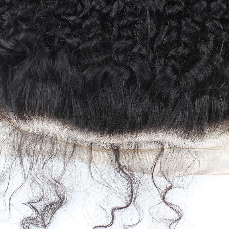 Afro kinky encaracolado pacotes de cabelo humano