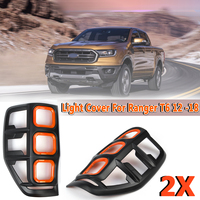 ABS Rear Light Covers Lampshade Without Light For Ford Ranger T6 2012 2013 2014 2015 2016 2017 2018 Rear Tail Light Lamp Cover