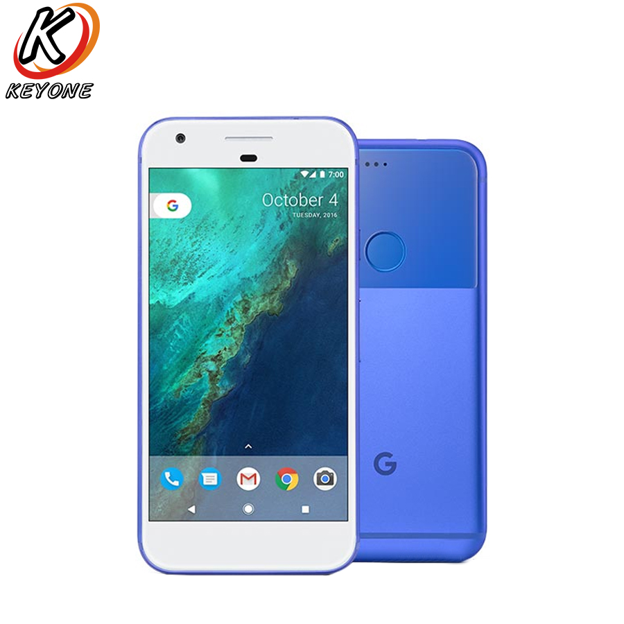 Original version US Google Pixel 4g LTE téléphone Portable 5.0 4 gb RAM 32 gb/128 gb ROM Snapdragon 821 D'empreintes digitales Android Téléphone Intelligent