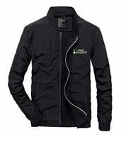 New men's ultra slim dry jacket baseball collar casual jacket