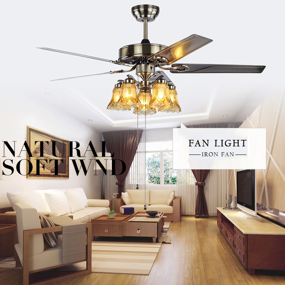 dining room ceiling fans with lights. Modern Folding Acrylic Leaf Led Ceiling Fans Creative Plated Steel Fan Lighting Diningroom Dimmable Fan-in From Lights Dining Room With