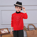 Christmas Sweater Girls Clothes Pullover Kids Teenage Girl Sweaters Jumper Children Clothing Baby Knitwear Solid O-neck Outwear