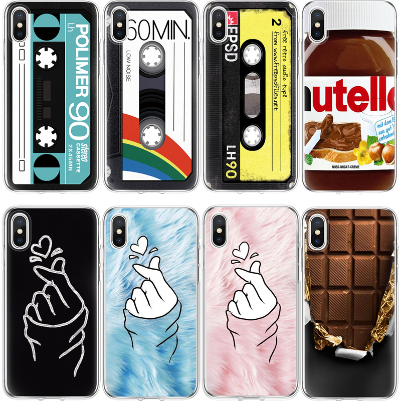 TPU Case Voor iPhone X Xs Max XR 5S SE 6 6S 7 8 Plus Voor Samsung Galaxy j3 J5 J7 A3 A5 A6 A8 2016 2017 2018 S7 S8 S9 Plus Cover